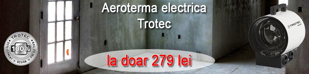 Cumparati aeroterma electrica Trotec TDS 20 R la pretul de numai 278 lei