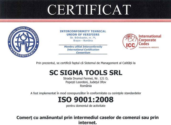 Sigmatools - Managementul calitatii in comertul online