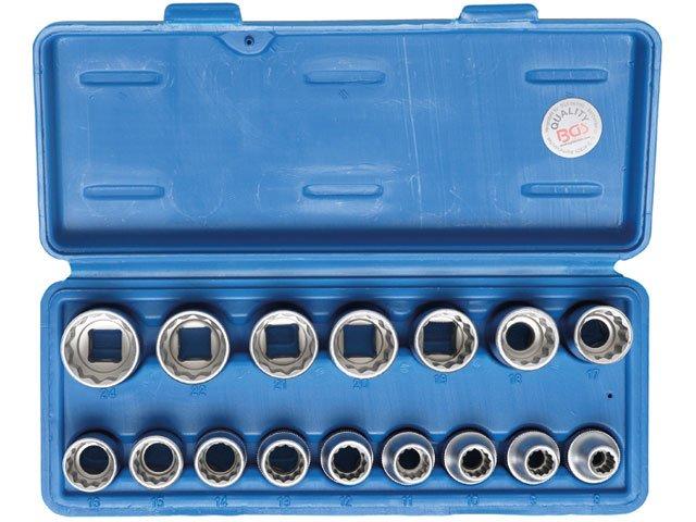 set 16 chei tubulare 12 10-24mm 12 puncte bgs 2226