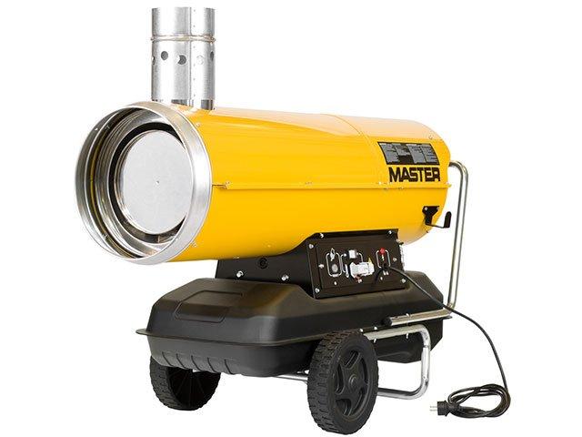 generator aer cald pe motorina cu ardere indirecta master bv 110e