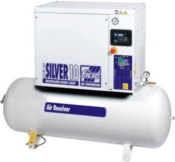 compresor cu surub fiac new silver 10500