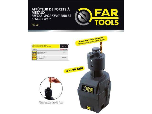 dispozitiv ascutit burghie 3-10 mm fartools aff 70