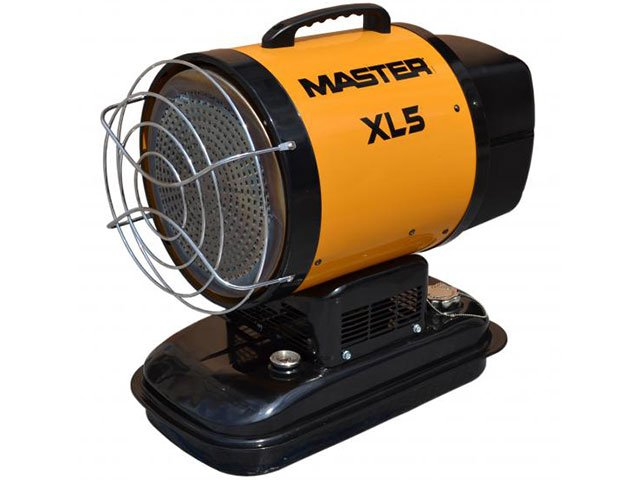 incalzitor cu motorina prin ardere catalitica master xl5