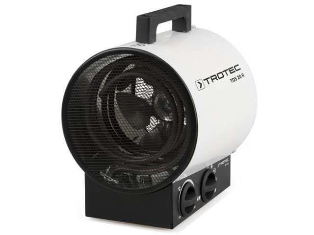aeroterma electrica trotec tds 20 r