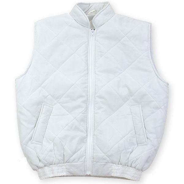 vesta vatuita tercot cu captuseala fleece blanca