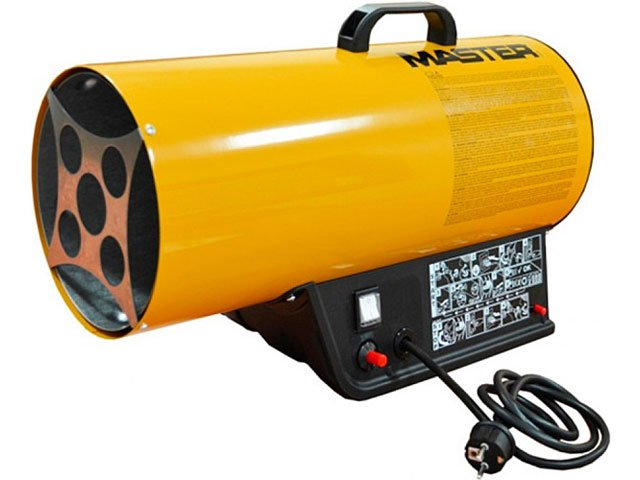 generator aer cald cu gaz master blp 17 m