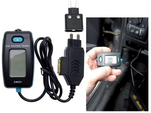 ampermetru digital pentru sigurante auto bg 63520