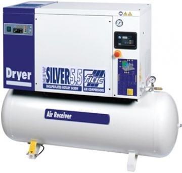 compresor cu surub fiac new silver d 55200