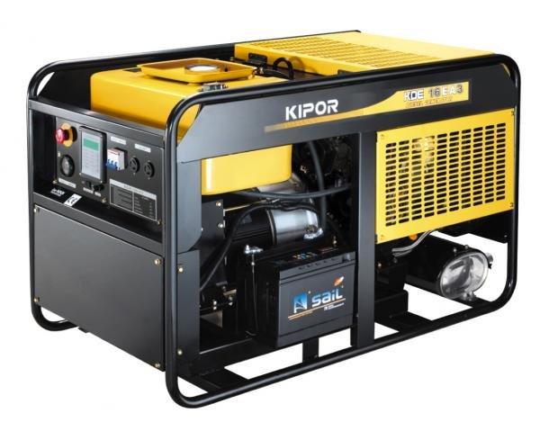 generator curent trifazat kipor kde 16ea3