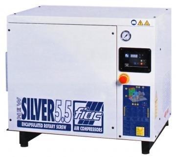 compresor cu surub fiac new silver 55