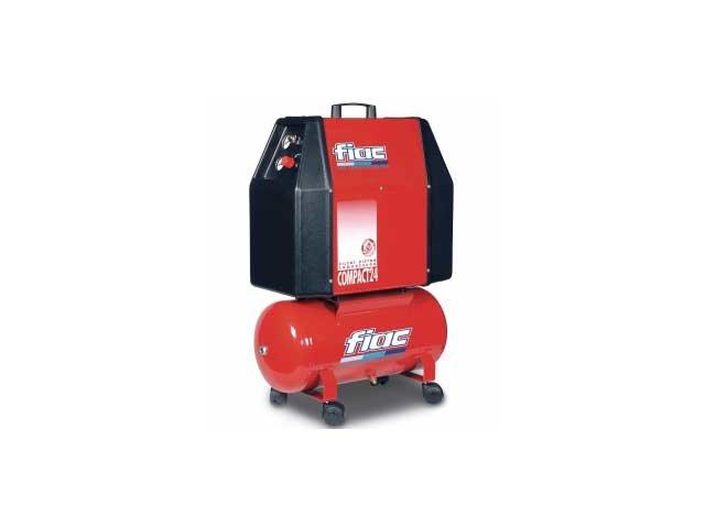 compresor cu piston insonorizat fiac compact 24