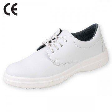 pantof alb cu bombeu metalic belle s1 art2901
