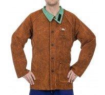 44-7300 lava brown jacheta de sudura din spalt de vita