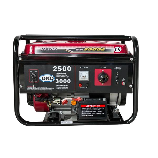 generator de curent weima wm 3000e - pornire electrica