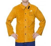 44-2530 golden brown jacheta de sudura din spalt de vita