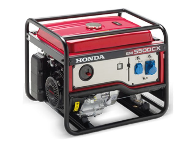 generator curent monofazat honda em 5500 cx