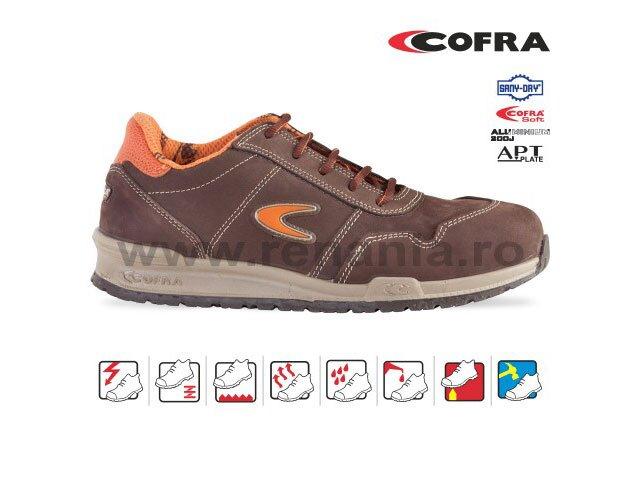 pantof de protectie cu bombeu aluminiu si lamela yashin