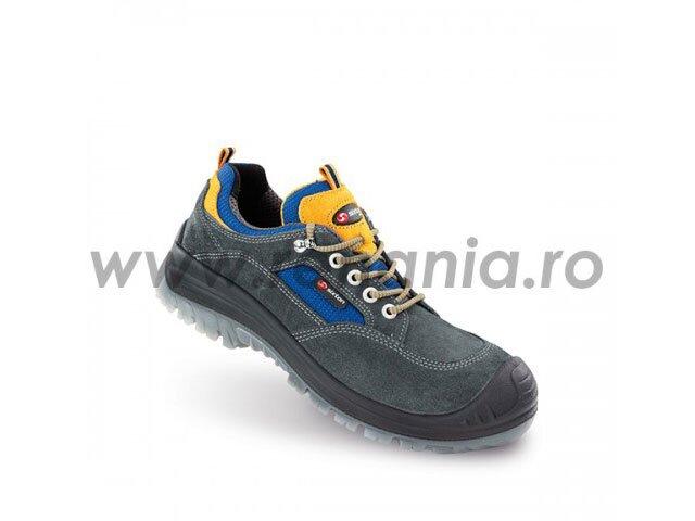 pantof de protectie cu bombeu compozit si lamela antiperforatie nm land s1p