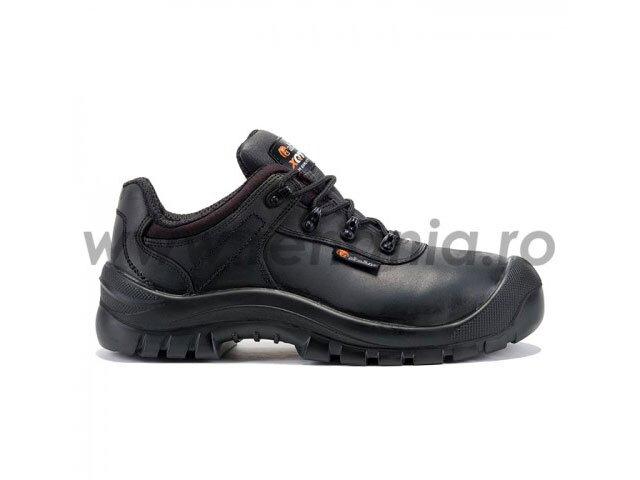 pantofi de protectie cu bombeu din compozit si lamela antiperforatie oak s3 hro src
