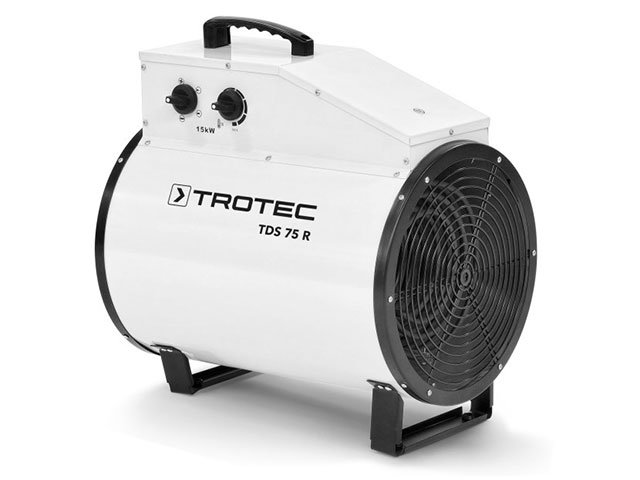 aeroterma electrica trotec tds 75 r