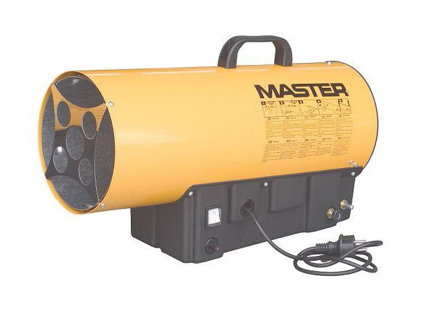 generator aer cald cu gaz master blp 27 m