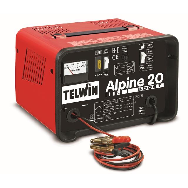 redresor auto 12-24v telwin alpine 20 boost