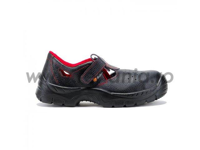 sandale de protectie cu bombeu metalic maple s1 src