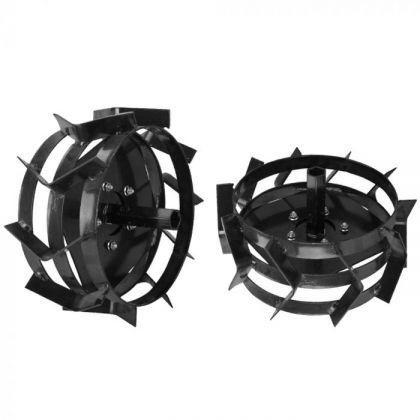 set roti metalice motocultor 500 x 12 manicoti de 32 mm