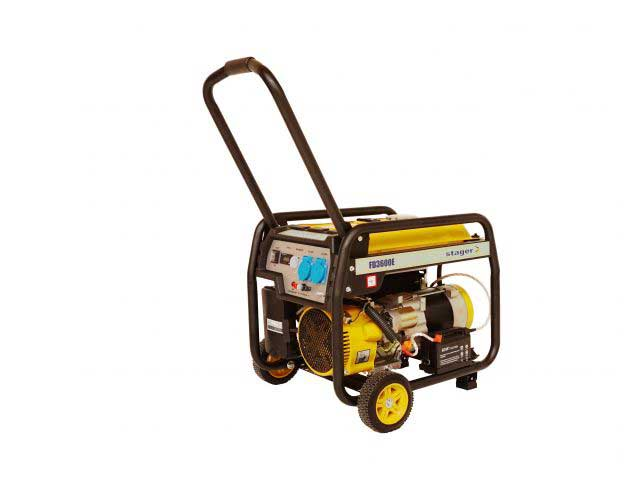 stager fd 3600e generator open-frame 28kw