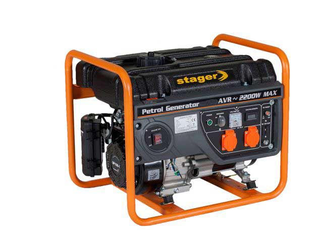 stager gg 2800 generator open-frame 2kw
