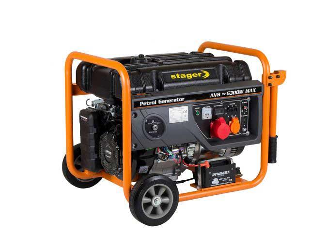stager gg 7300-3ew generator open-frame 58kw trifazat