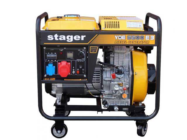 stager yde6500e3 generator open frame diesel trifazat 55kw