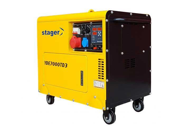 stager yde7000td3 generator insonorizat diesel trifazat 52kva