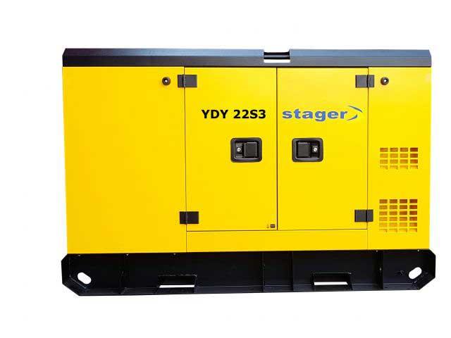 stager ydy22s3 generator insonorizat diesel trifazat 20kva