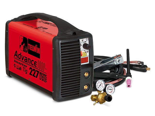 invertor sudura telwin advance tig 227 mvpfc dc-lift