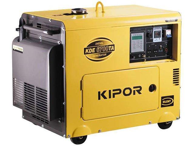 generator curent kipor kde6700ta