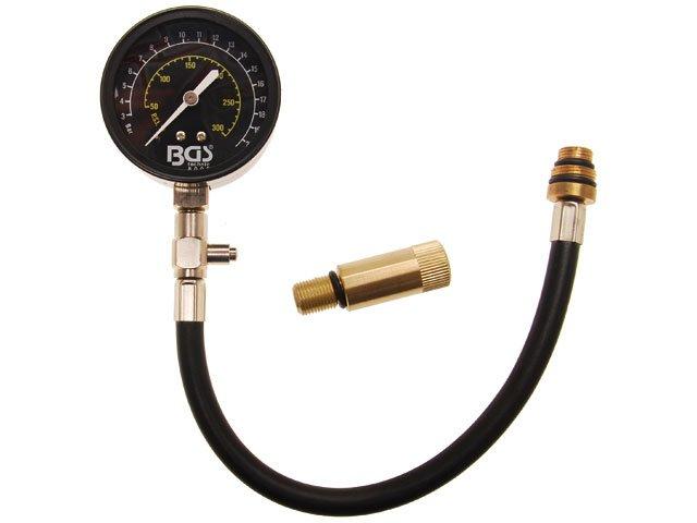 compresiometru cu adaptor 14 + 18 mm bgs 8005