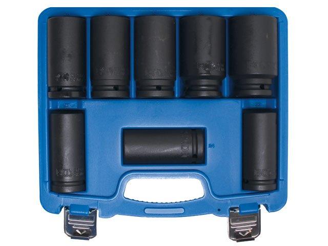 set 8 chei de impact 22-38 mm lungi 34quot bgs 5241