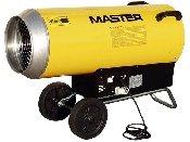 generator aer cald cu gaz master blp 103 e