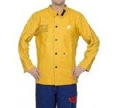44-5530 golden brown jacheta de sudura din piele box de vita
