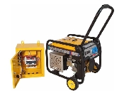 stager fd 3600e+ats generator open-frame 28kw
